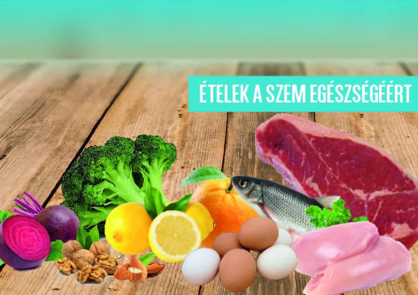 látás vitaminok étel