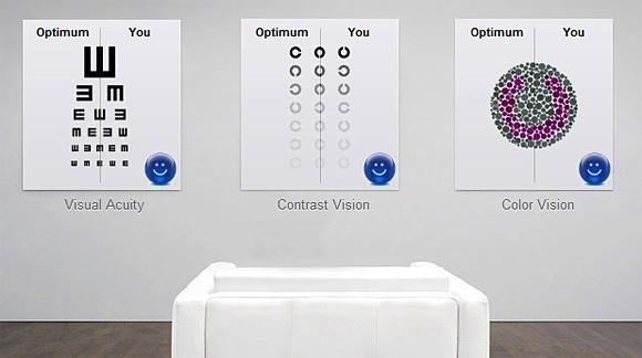 látás online teszt