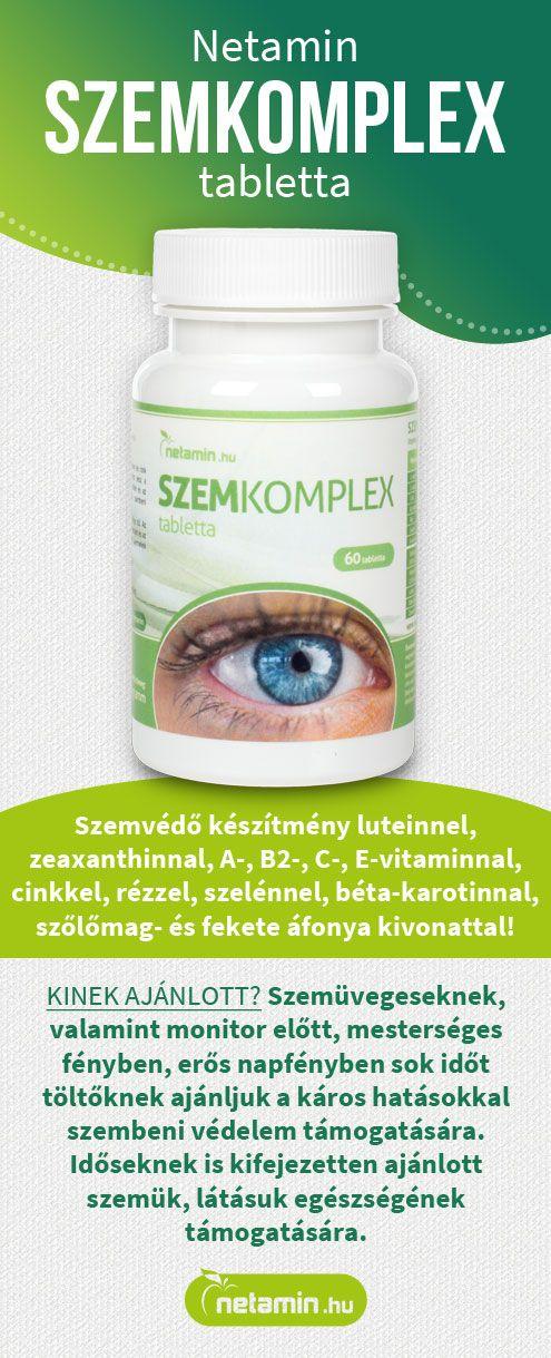 étrend-kiegészítő a látáshoz
