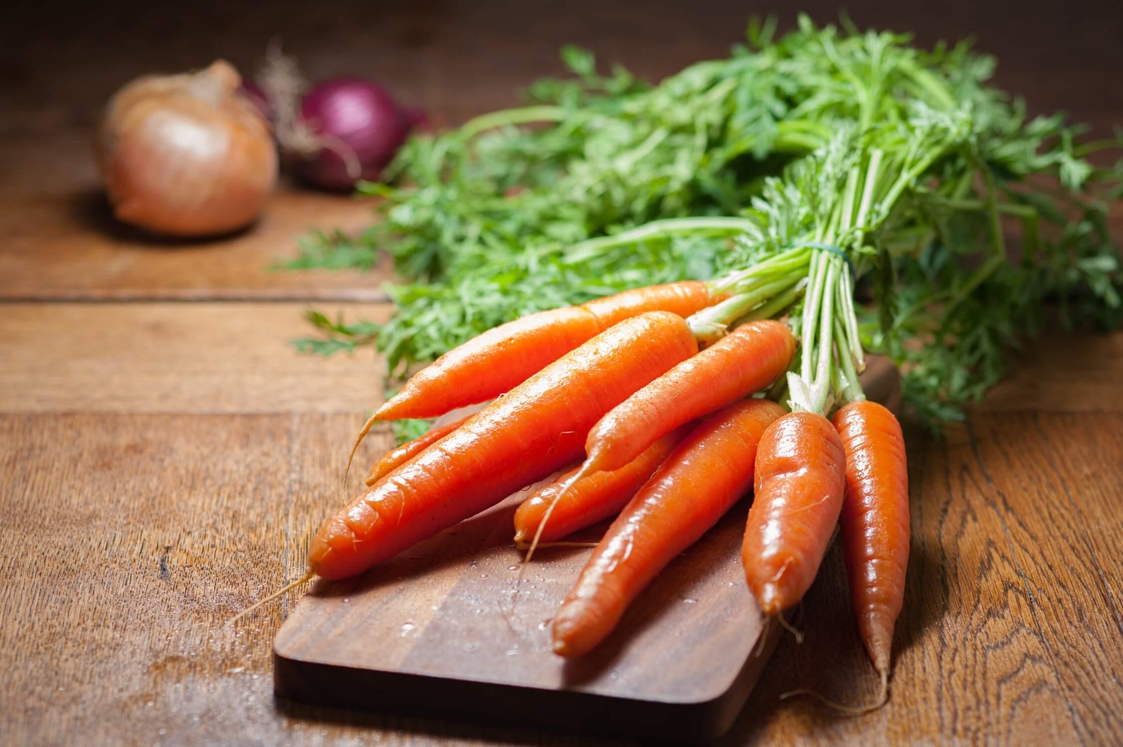 zöldség a látáshoz