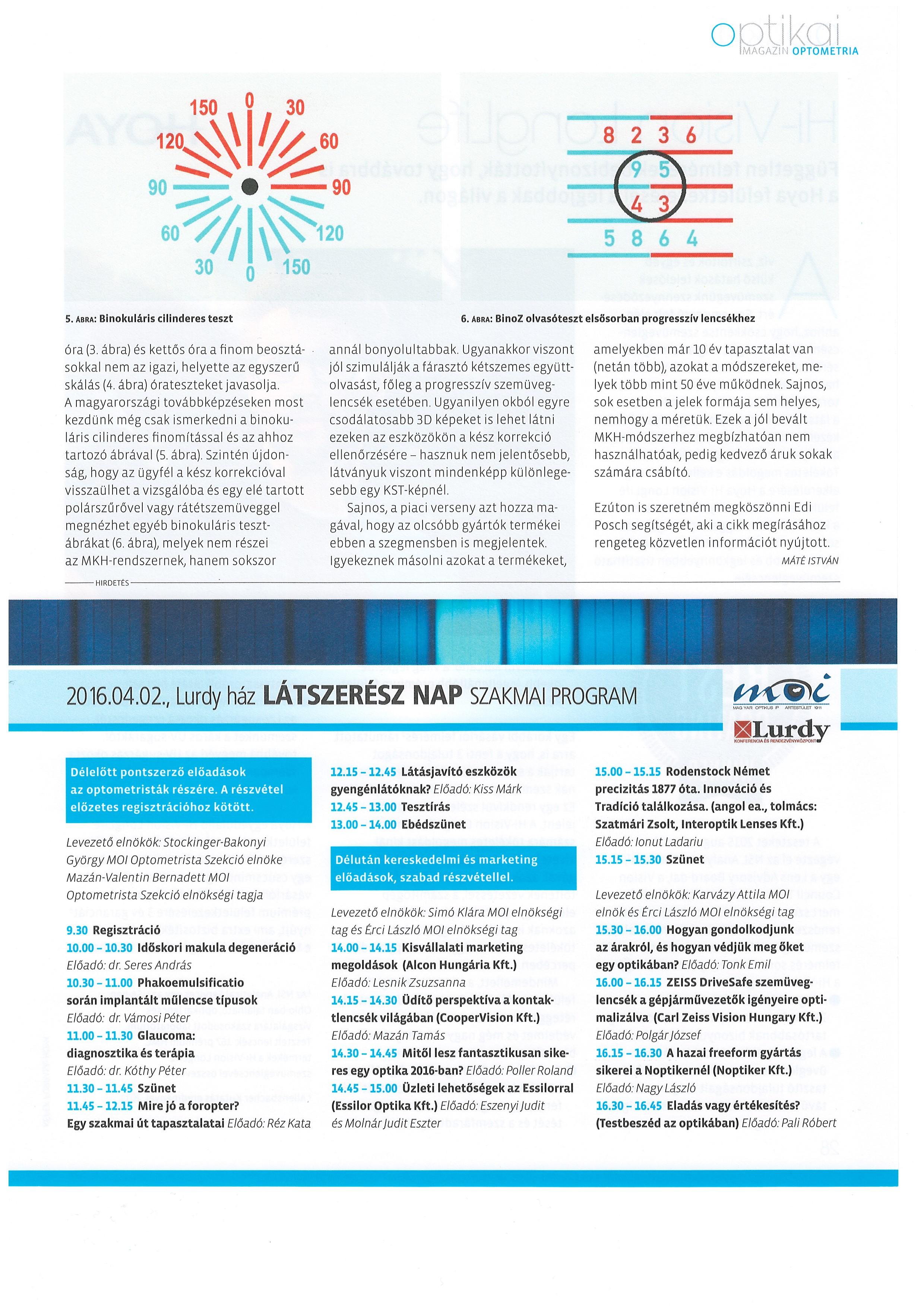 Hoya EyeGenius - a látásvizsgálat forradalmi eszköze | Szemüvegvilág
