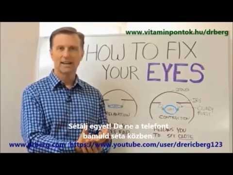 Szemtréning – Látásjavító szemtorna - Rövidlátás gyakorlatok