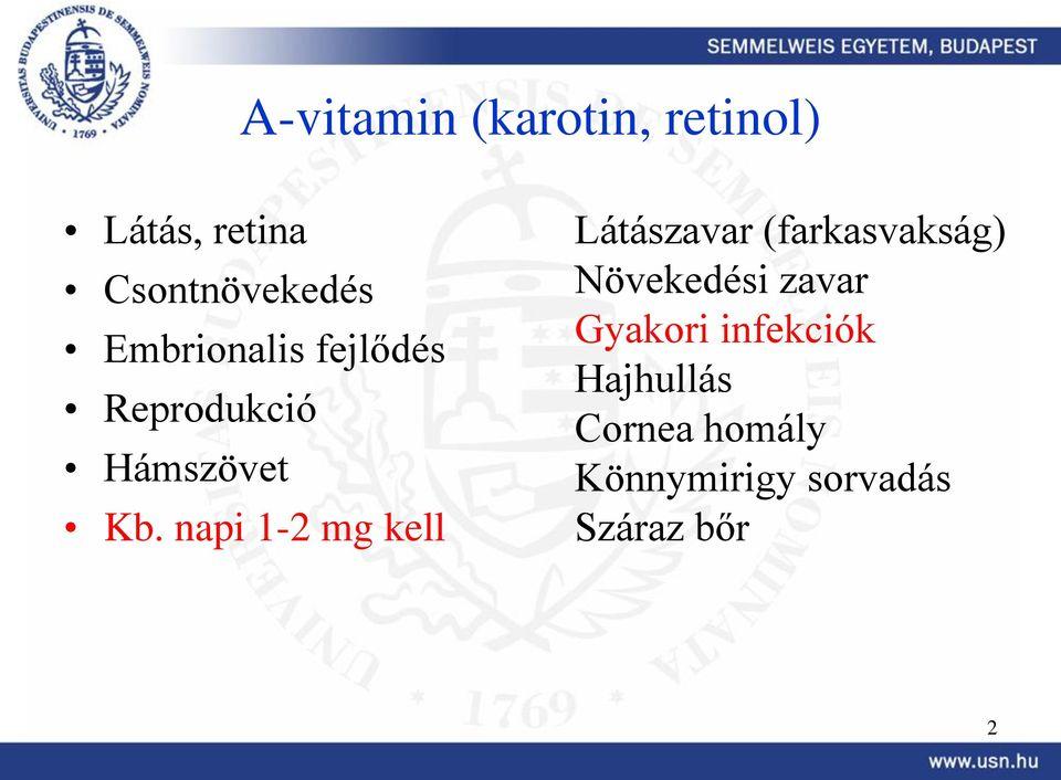 látászavar krónikus betegség)