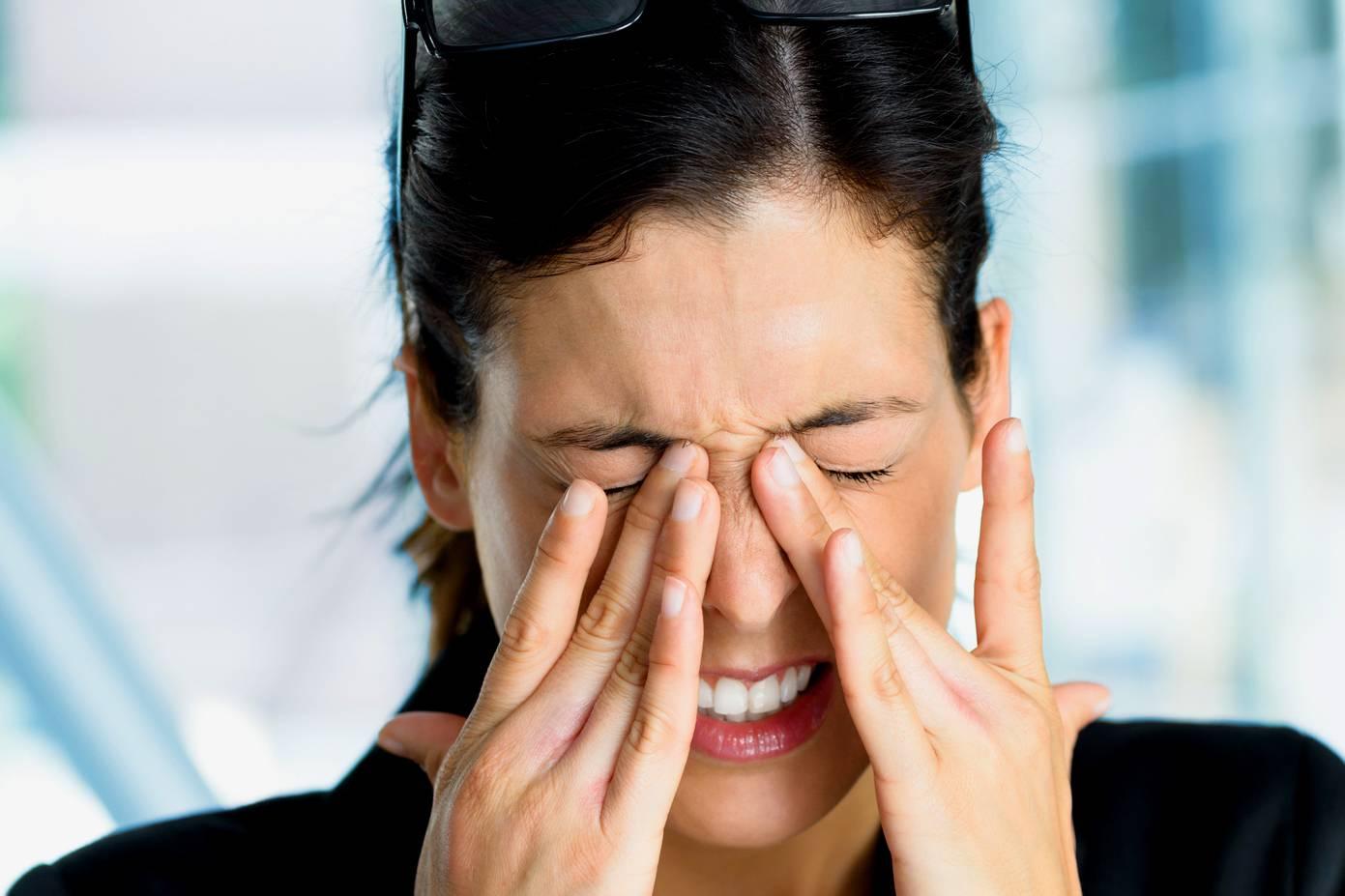fizikai megterhelés után a látás romlik
