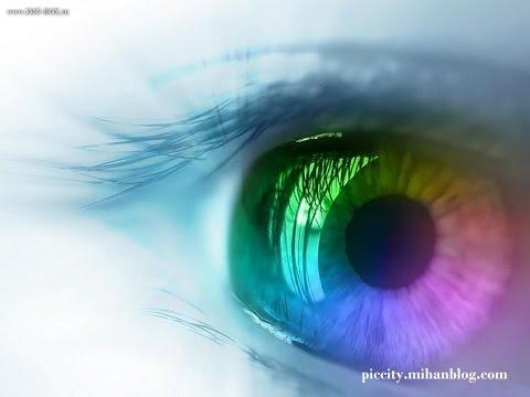 Baba albínó látás