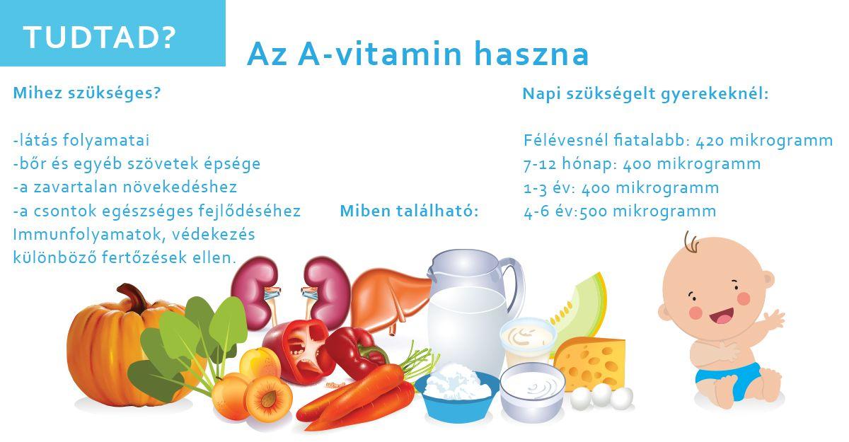 látás a-vitamin