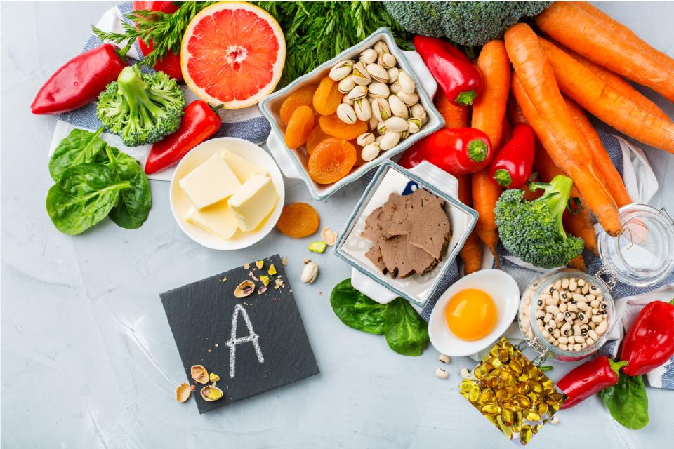 milyen ételek tartalmaznak vitaminokat a látáshoz