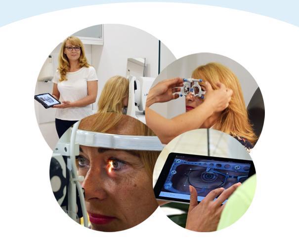 szemcseppek csepegtetése a látás tesztelésére
