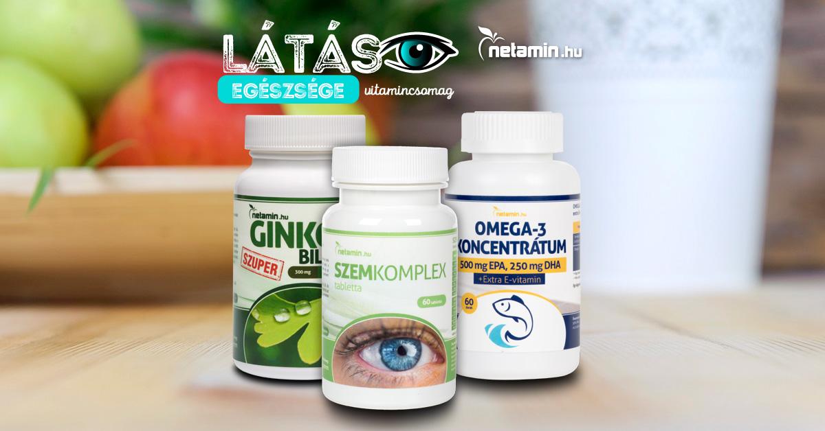 vitaminok a látáshoz egy évig