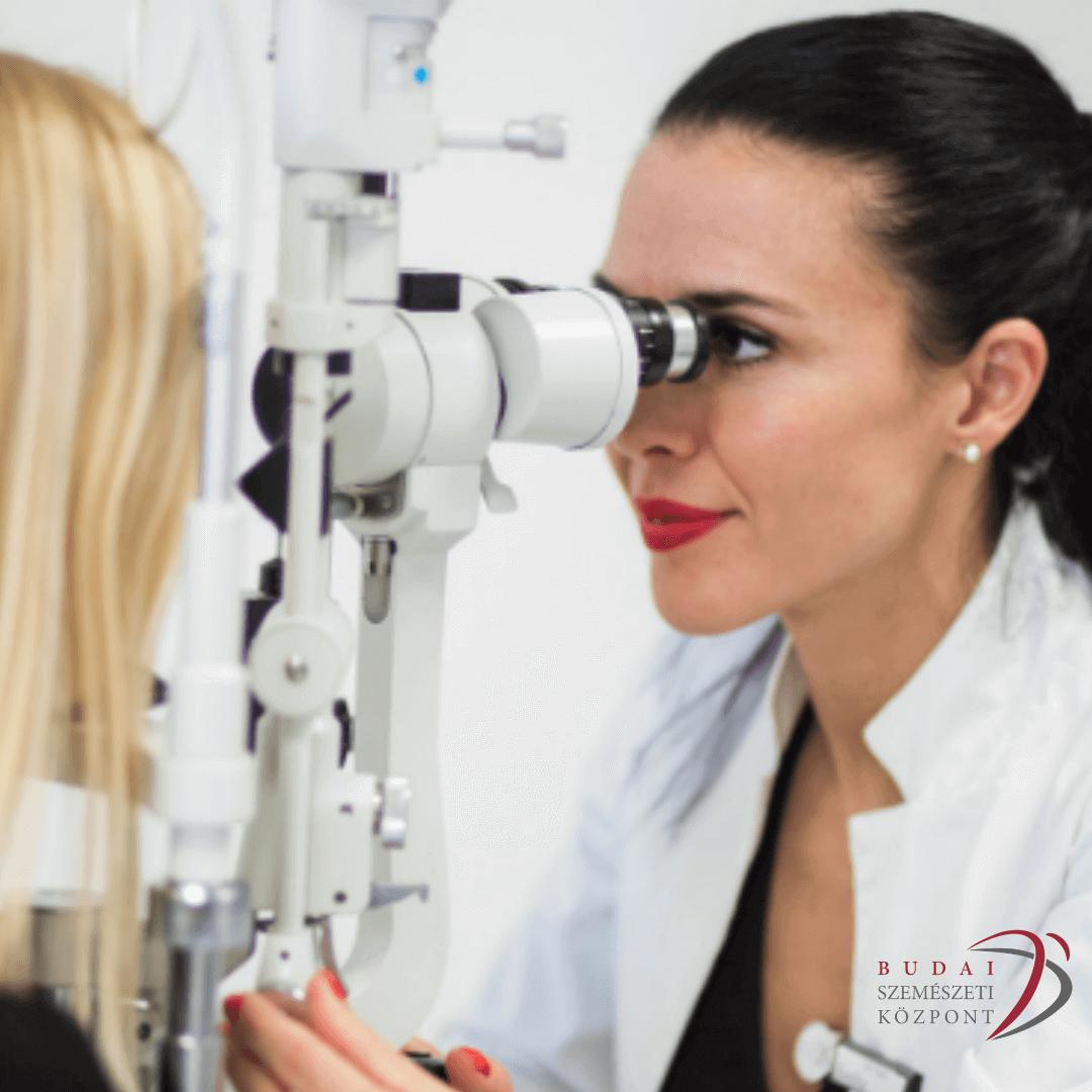 a német szemész orvosához