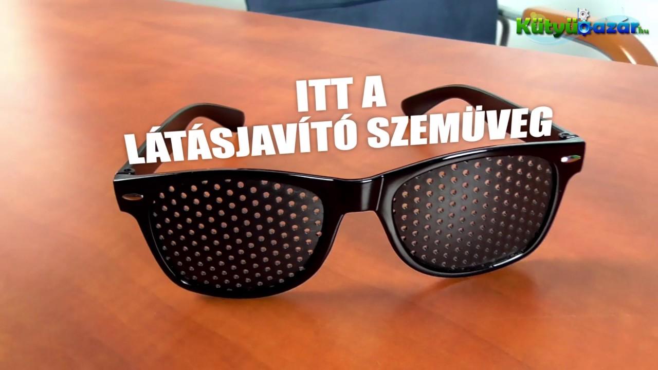 szemüveg a látás helyreállításához