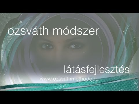modern módszer a látás helyreállítására)