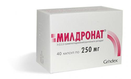 Mildronát mellékhatások a látásra)