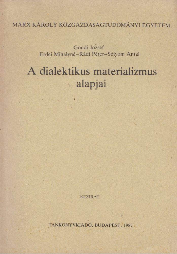 dialektikus nézet)