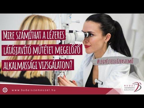lézeres látásmérés