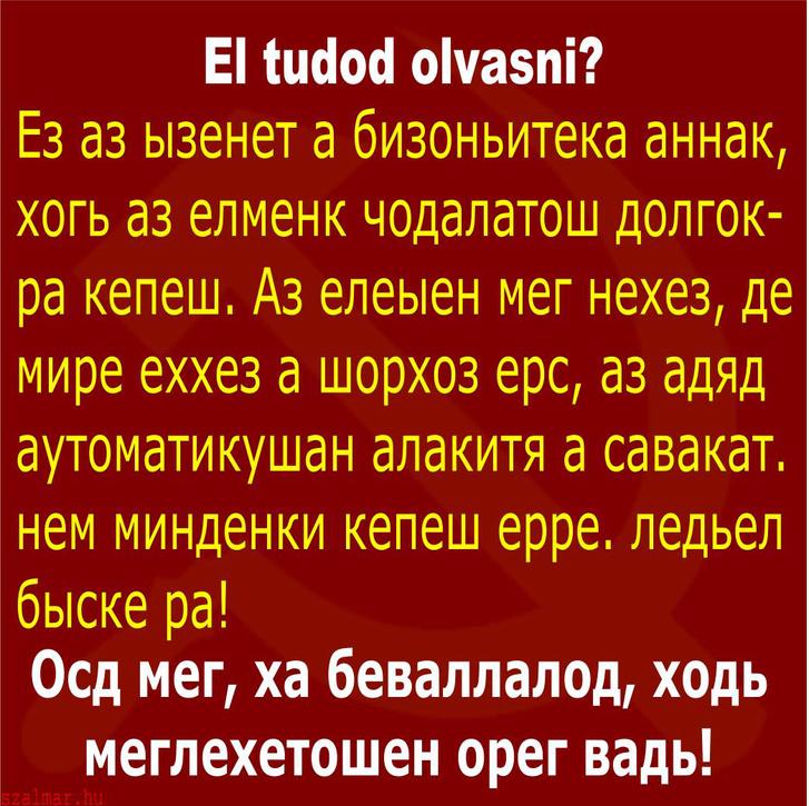 betűket olvasni)