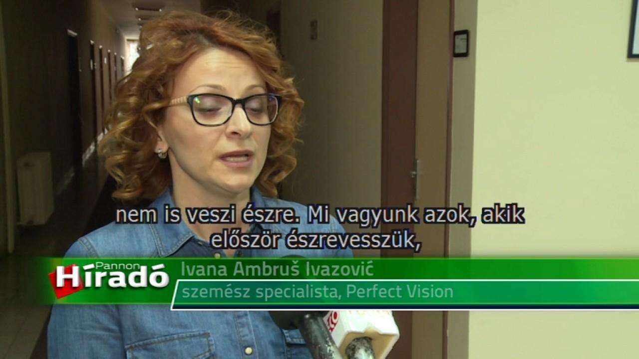 szemvizsgálat Dubna)