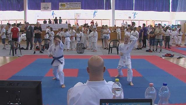 karate és látás)