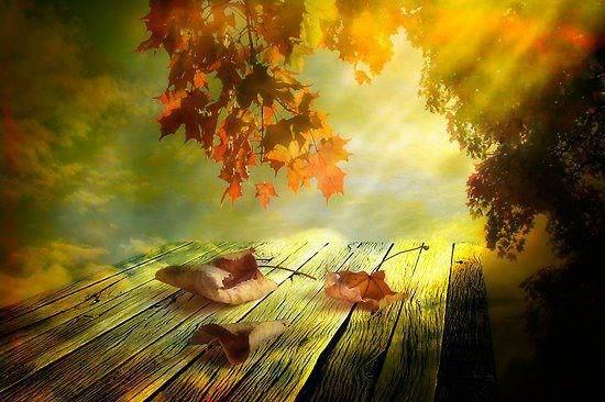 ősz és látomás)