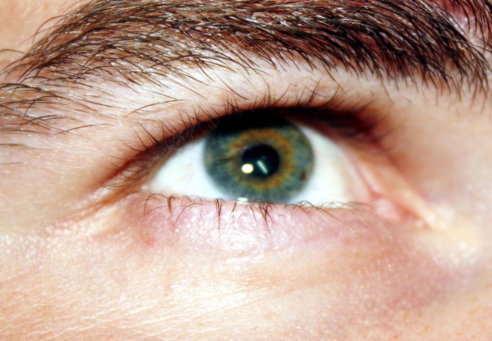 vizuális látás szemek)