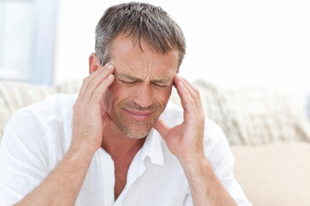 fejfájás leül a látás)