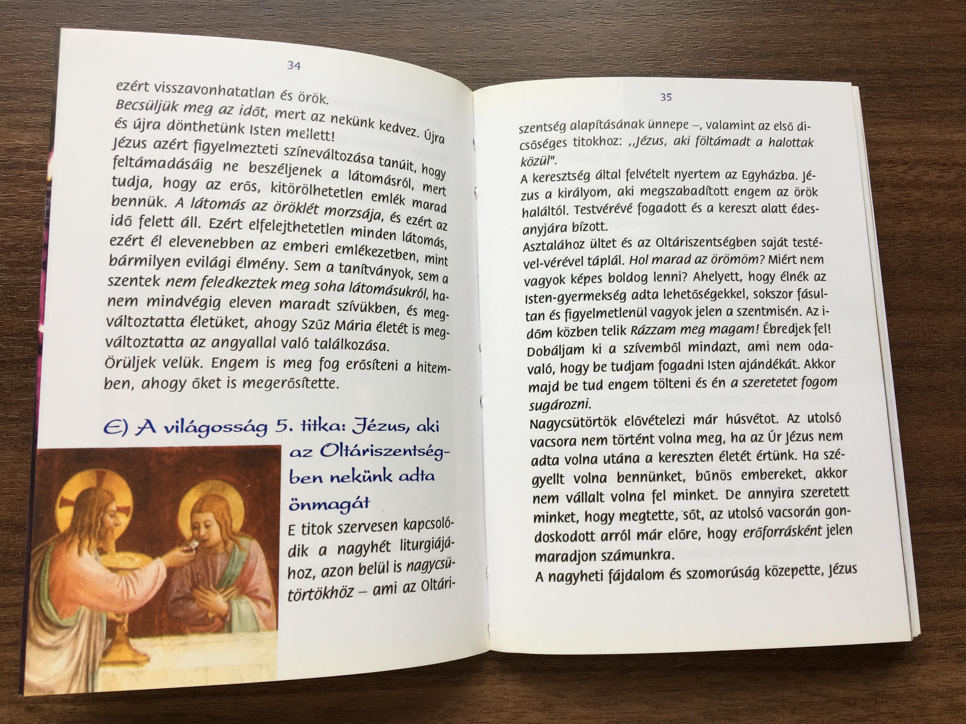 nézz egy könyvet a látomásról)