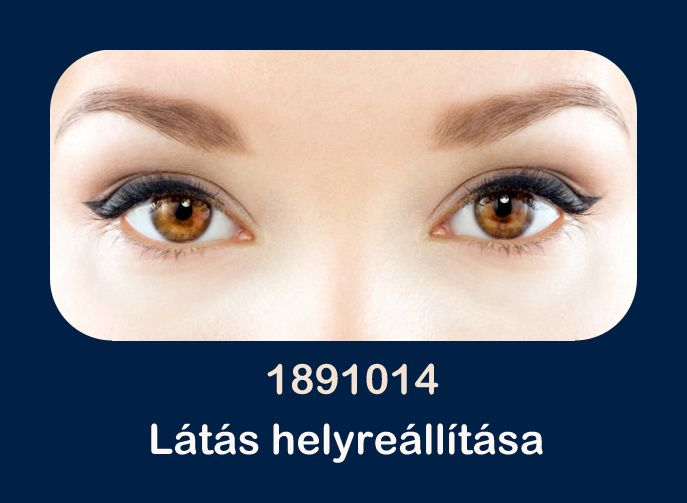 a látás helyreállítása módszerrel)
