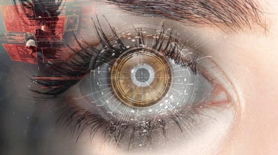 a látás rövid ideig romlik
