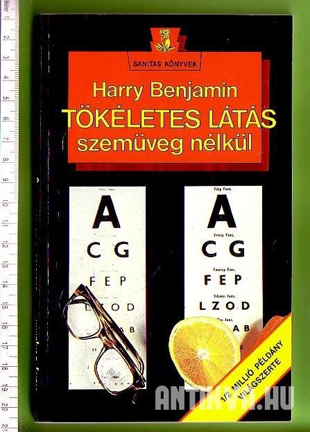 orvosi könyv a látásról hogyan lehet masszázzsal visszaállítani a látást