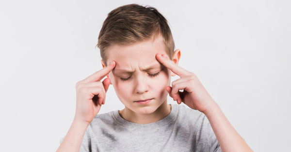 fejfájás leül a látás