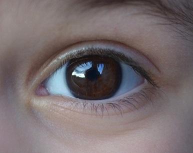barna szem a látáshoz