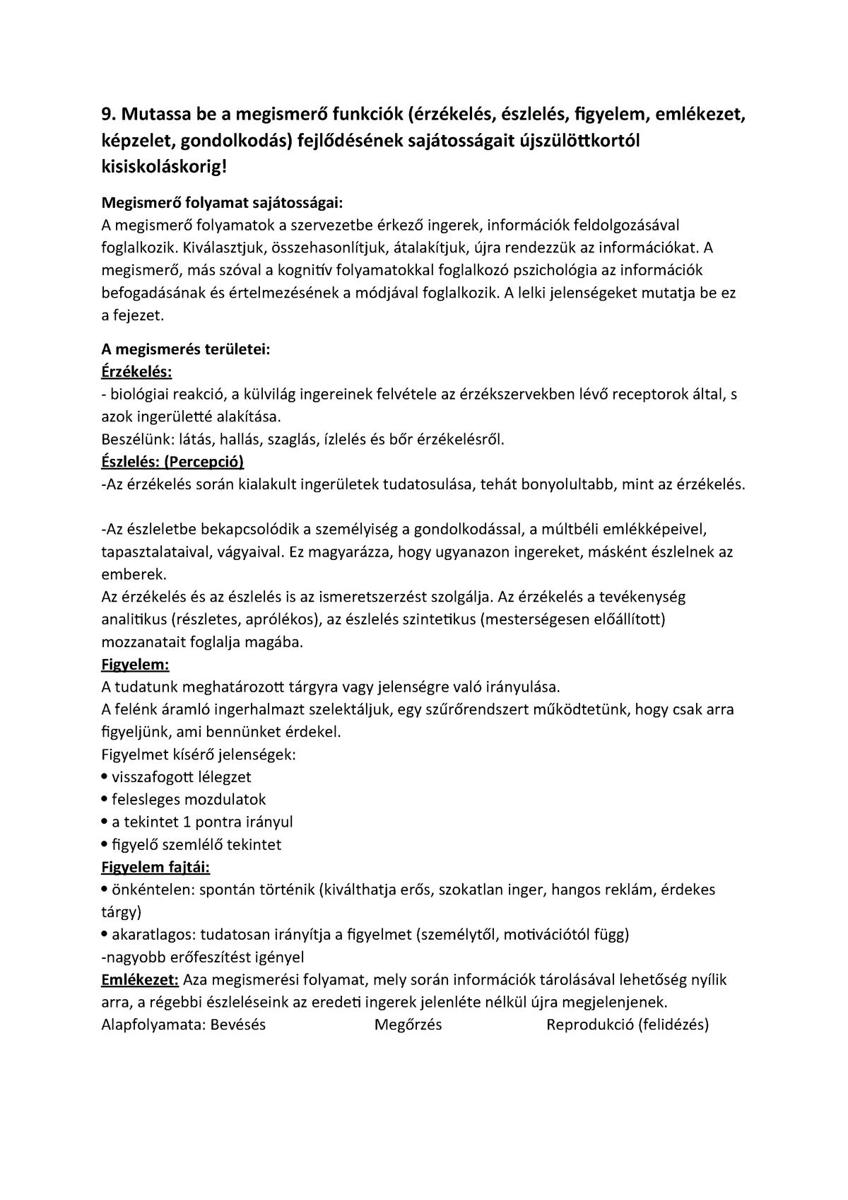 Észlelés előadás (Általános pszichológia I.) - Krajcsi Attila