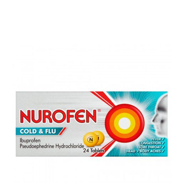 Nurofen Cold and Flu filmtabletta 12x - Arany KĂgyĂł Patika - zonataxi.hu - Online Patika