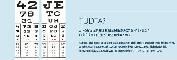 100 százalékos látásom van)