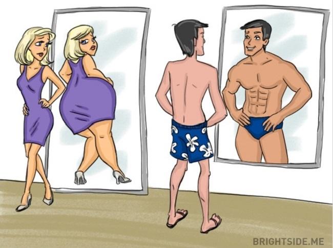 Így látják a nők és a férfiak a színeket