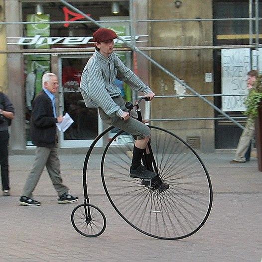 kerékpár és rossz látás)