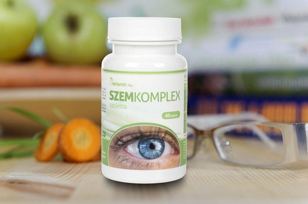 táplálkozás révén javítja a látást