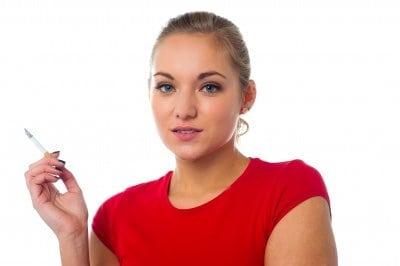 a cigaretta hatása a látásra