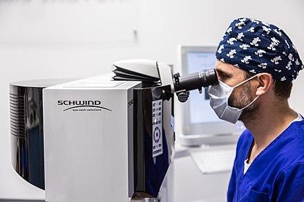 Lézeres szemműtét menete, folyamata