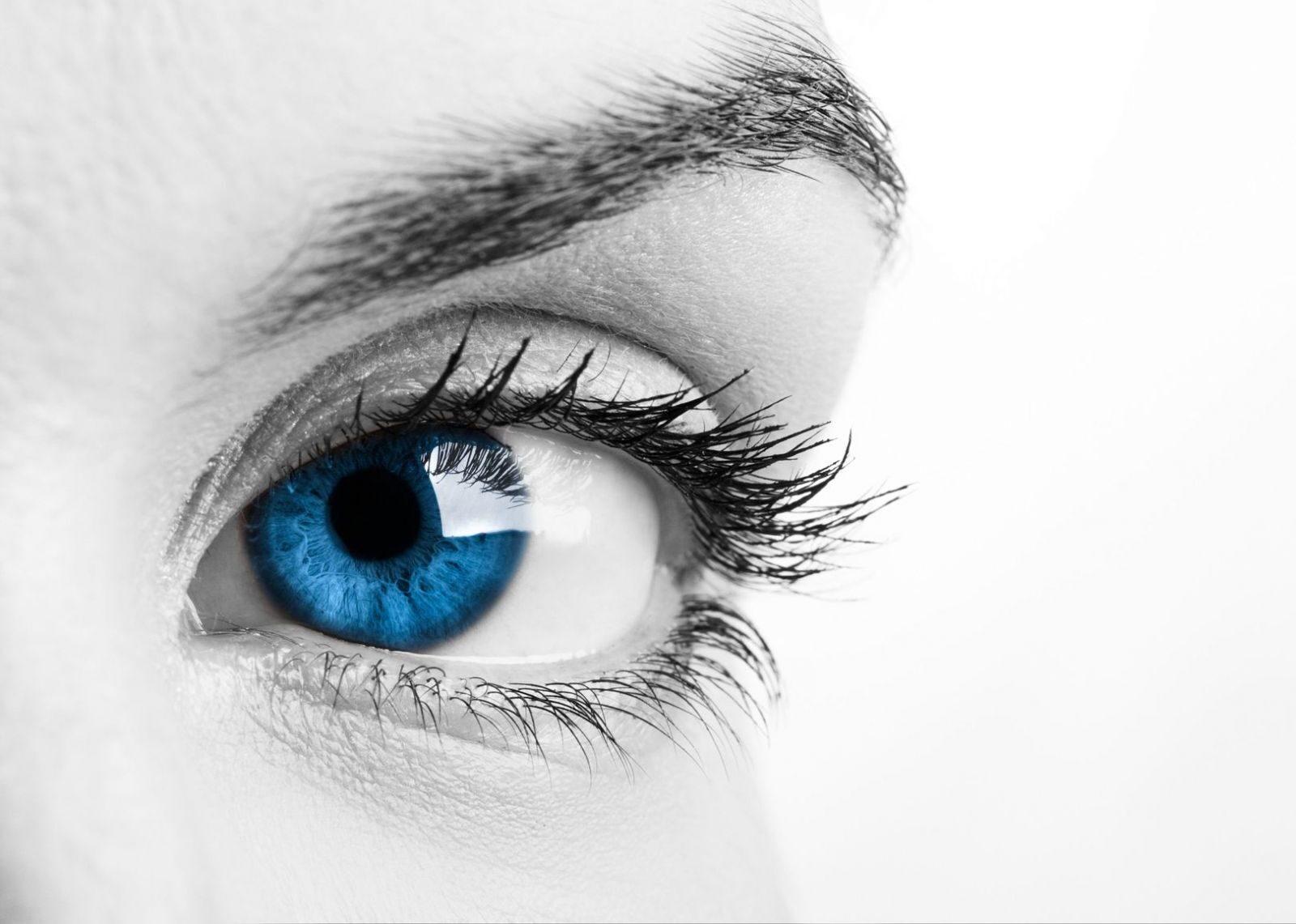 a látás ellenőrzésekor a szemek eltemetve vannak