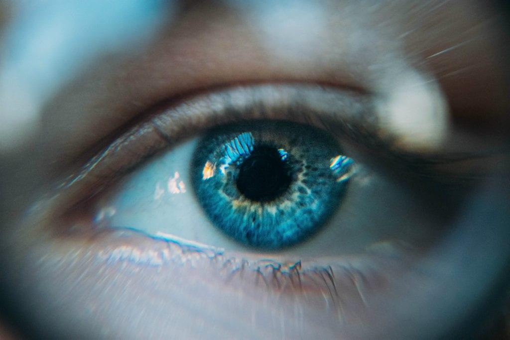 a látás hiánya a szemben)