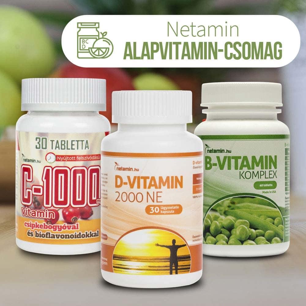vitaminok 40 év után látásra