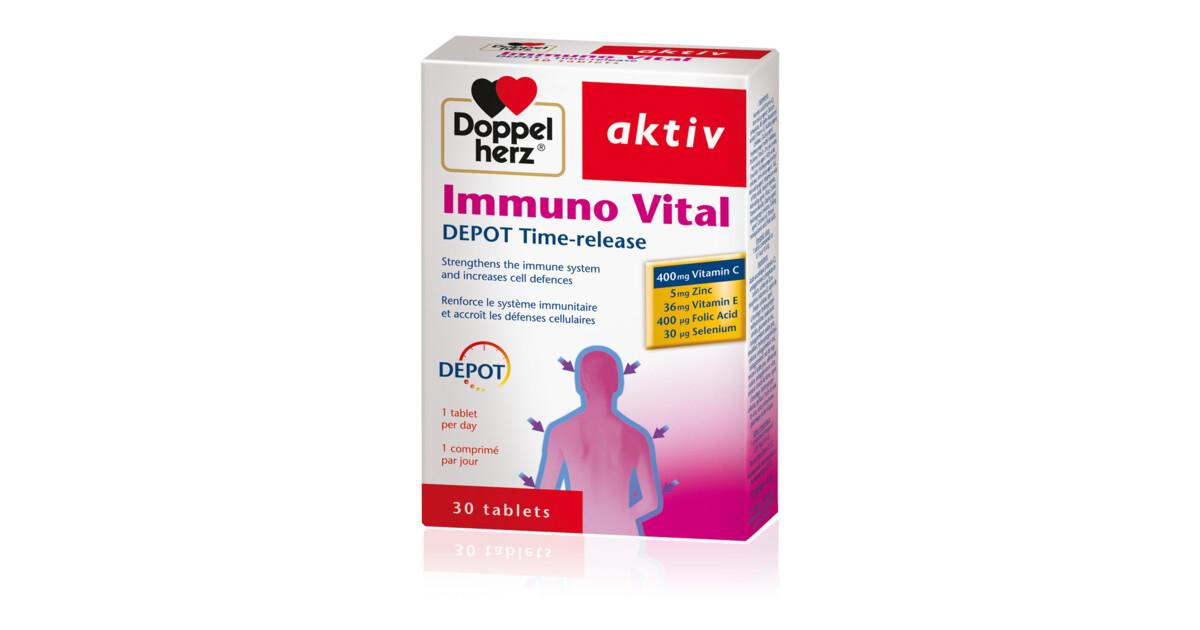 Doppel Herz Kalcium+D3 vitamin tabletta 30db mindössze Ft-ért az Egészségboltban!