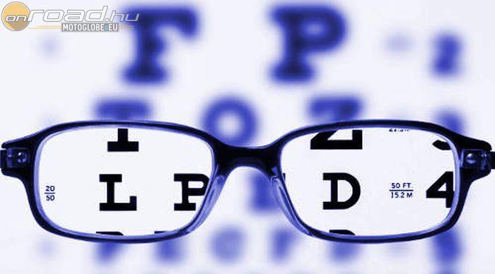 ha a látás mínusz hat