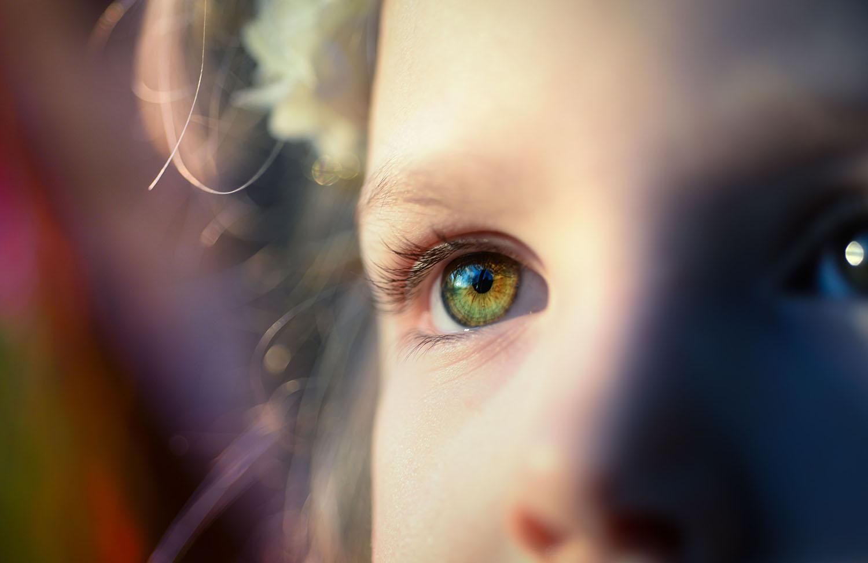 a látás romlik és a szem előtt