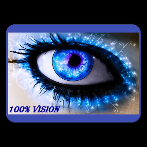 a látás teljes helyreállítása 100% -ban