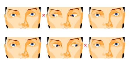 gyakorlatok a látás szolarizálására