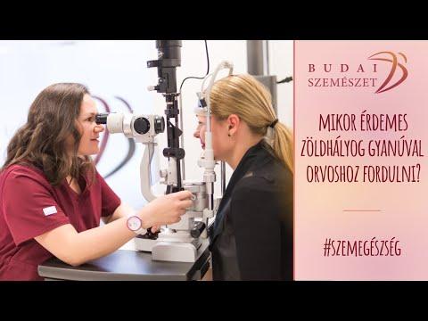 gyakorlat a látás helyreállításának kezelésére)