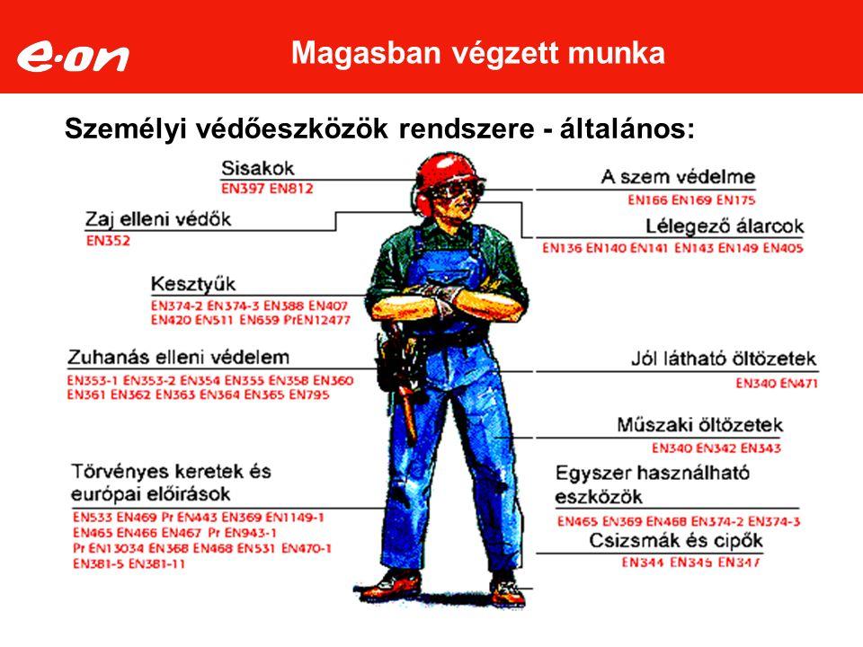 látási követelmény a magasban végzett munkához)