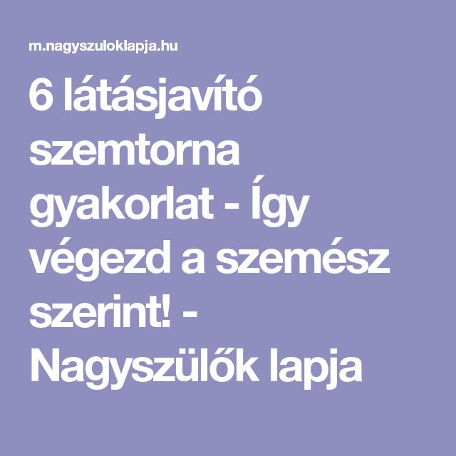 látásjavító teszt)